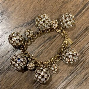 Kate Spade lady Marmalade crystal bracelet